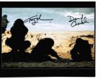 Tony Jackson & David Charkham from the classic film 2001 a space odyssey hand signed